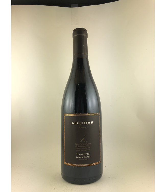 Pinot Noir Pinot Noir, Aquinas, North Coast, CA, 2016