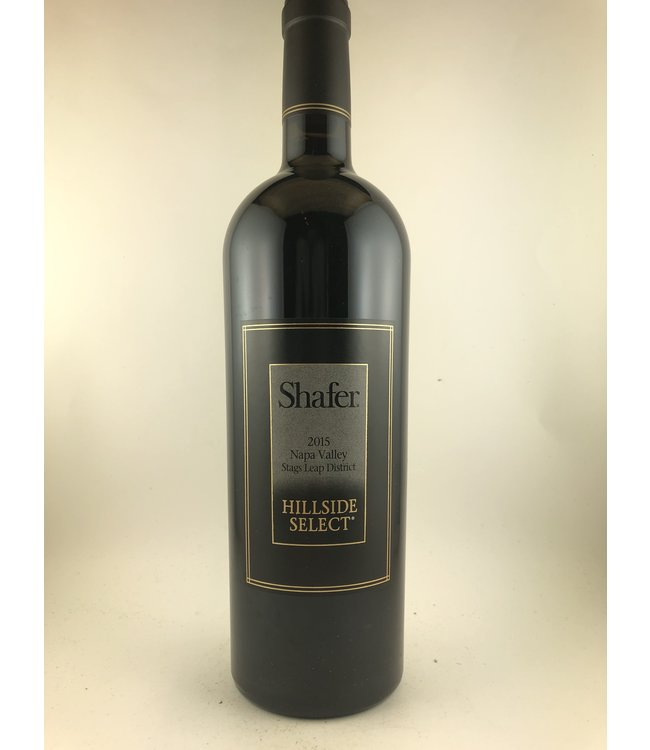 "Cabernet Sauvignon Cabernet Sauvignon ""Hillside Select"", Shafer Vineyards, Napa Valley, 2015"