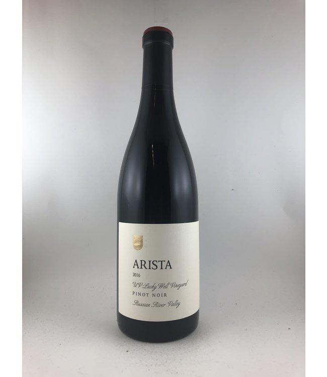 """Pinot Noir Pinot Noir, """"Lucky Well Vineyard"""" Arista, Russian River Valley, CA, 2016"""