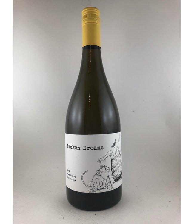 """Chardonnay Chardonnay, """"Broken Dreams"""", Slo Down Wines, CA, 2018"""