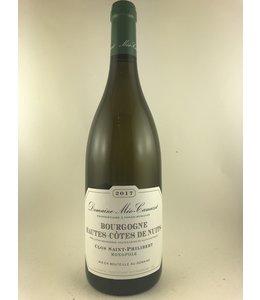 Burgundy Bourgogne Blanc, Haut Cotes De Nuits, Meo-Camuzet, 2017