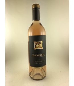 Rosè Rosé, Gamble Family Winery, Napa Valley,  2018