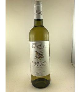 Whites other White Wine, Pemieres Grives, Domine Tariquet, Cotes de Gascogne, 2018