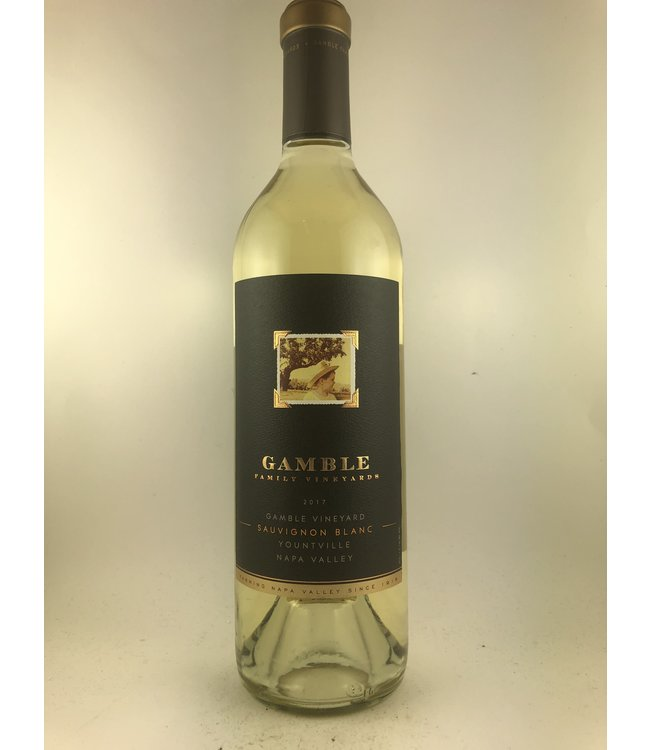 Sauvignon Blanc Sauvignon Blanc, Gamble Family Winery, Napa Valley,  2017