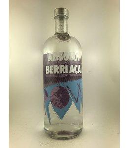 "Vodka Vodka, Absolut ""Berri Acai"", 1 Liter"