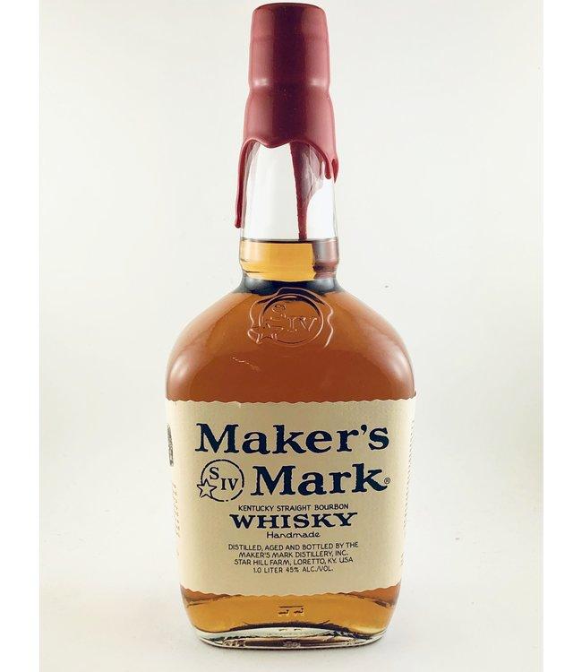 Bourbon Bourbon, Maker's Mark, 1 Liter