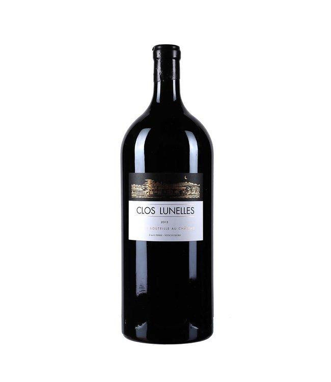 Bordeaux Blend / Meritage Chateau Clos Lunelles, Cotes de Castillon, FR, 2015 (Magnum)