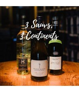 Three Sauvignon Blancs, Three Continents