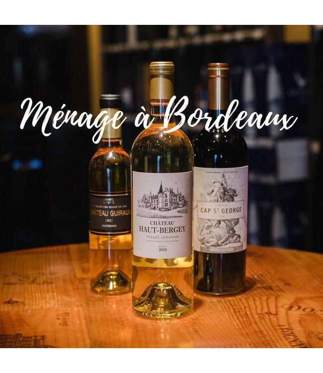 Sauvignon Blanc/Semillon Ménage á Bordeaux (3-Pak)