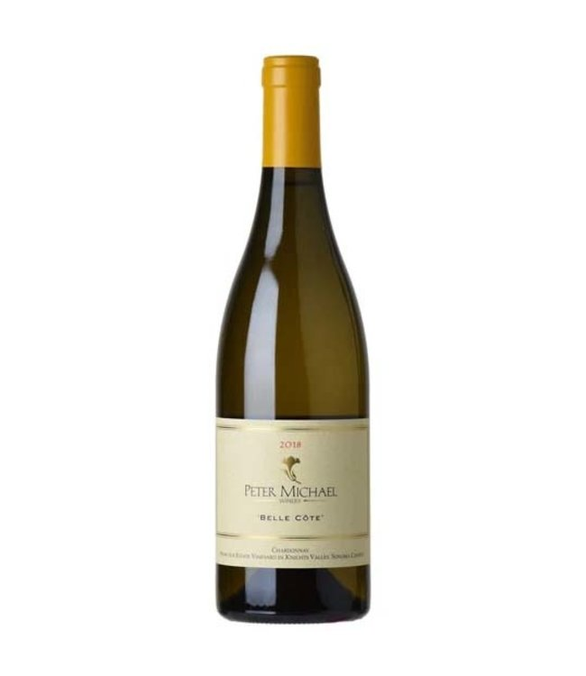 """Chardonnay Chardonnay """"Belle Cote"""", Peter Michael Winery, Knights Valley, Sonoma County, CA, 2018"""