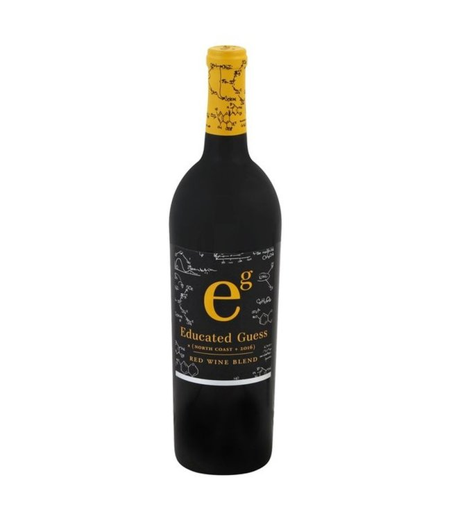 """Red Blend Red Blend """"Educated Guess"""", North Coast, CA, 2016"""