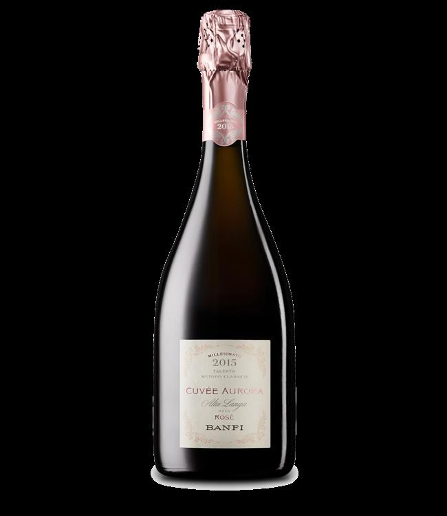 Rosè Sparkling Rosé, Cuvée Aurora, IT, 2015