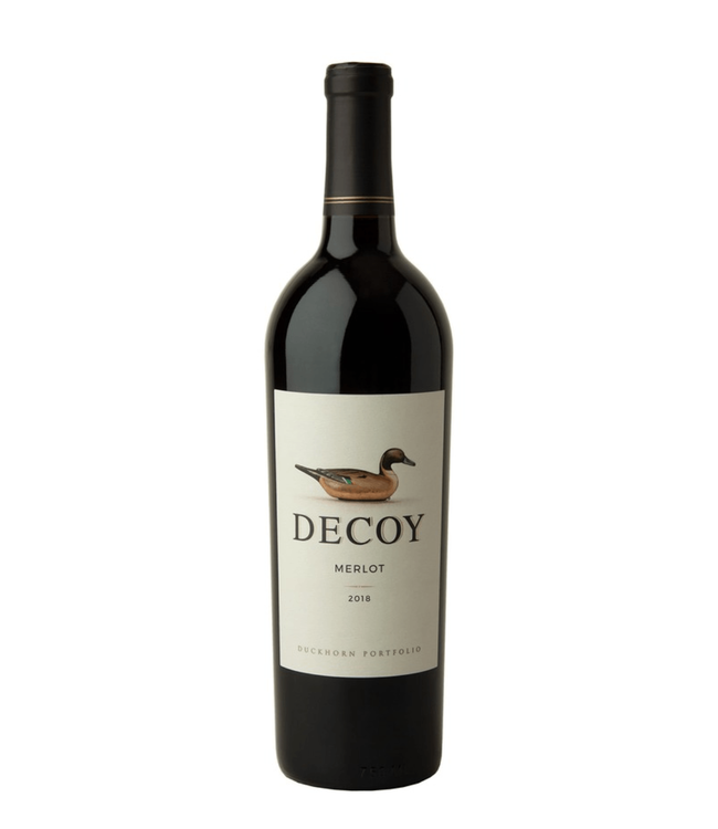 "Merlot Merlot ""Decoy"", Duckhorn Vineyards, Sonoma County, CA, 2018"