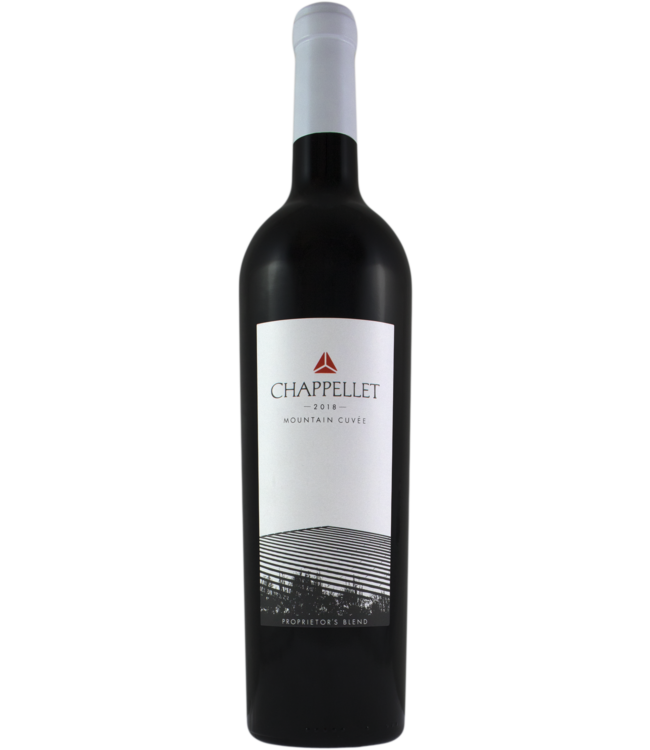 """Red Blend Red Blend, """"Mountain Cuvee"""" Chappellet, Napa Valley, CA, 2018"""