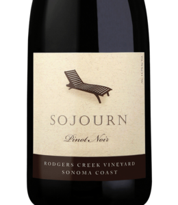 Pinot Noir Pinot Noir, Sojourn, Rodgers Creek, Sonoma Coast, CA, 2018