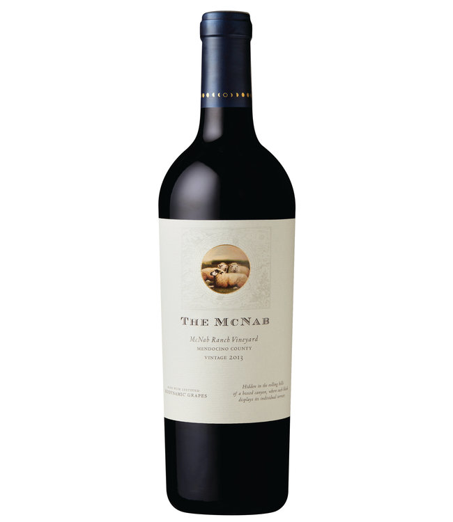 "Red Blend Red Blend ""The McNab"", Bonterra, Mendocino County, CA, 2016"