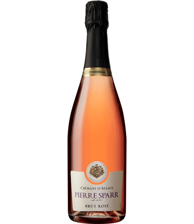 "Sparkling Sparkling, Cremant d'Alsace ""Brut Rosé"", Pierre Sparr, Alsace, FR"