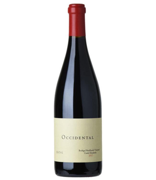 "Pinot Noir Pinot Noir, ""Bodega Headlands Vineyard Cuvée Elizabeth"",  Occidental, 2018"