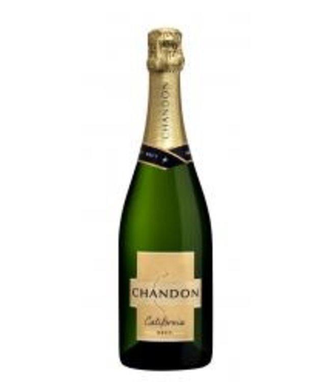 "Champagne Sparkling ""Brut"", Domaine Chandon, CA 375 ml."