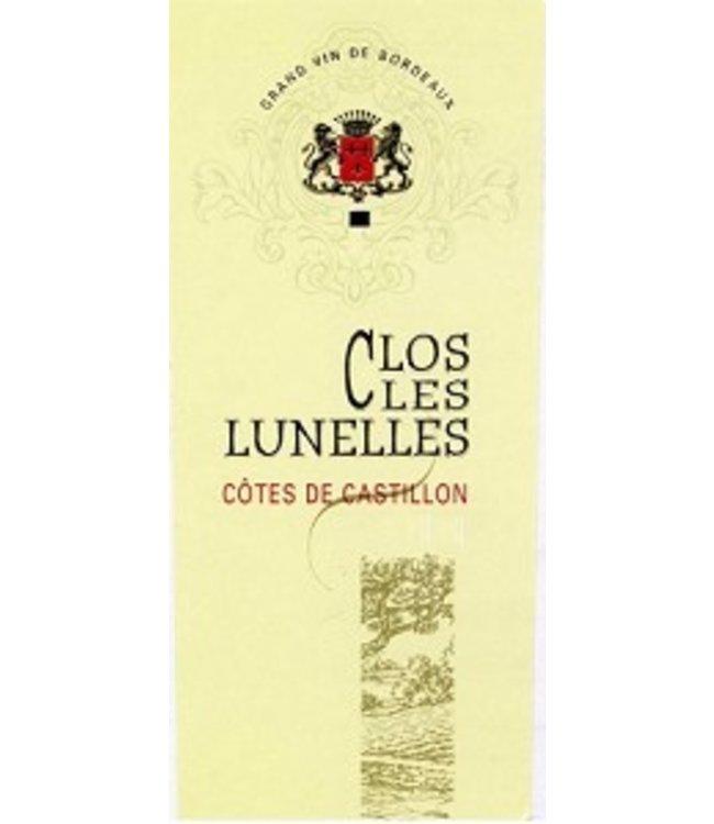 Bordeaux Blend Château Clos les Lunelles, Cotes de Castillon, FR, 2020 (Futures) 6-pack 6x750 ml
