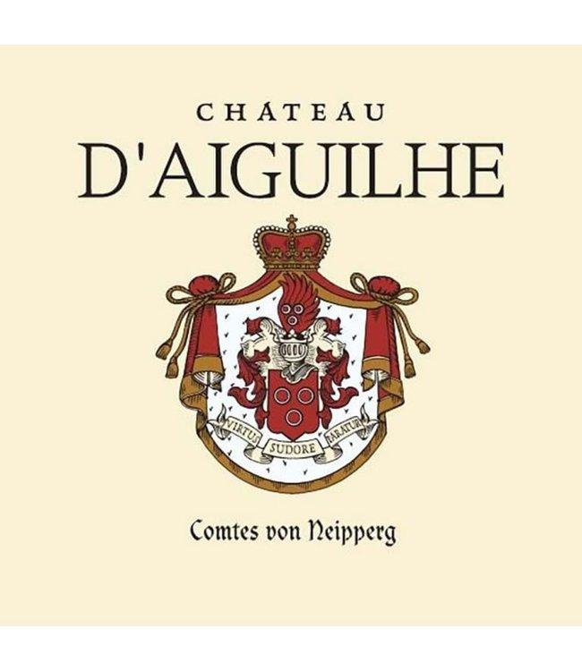 Bordeaux Blend Château d'Aiguilhe, Cotes de Castillon, FR, 2020 (Futures) 6-pack 6x750 ml