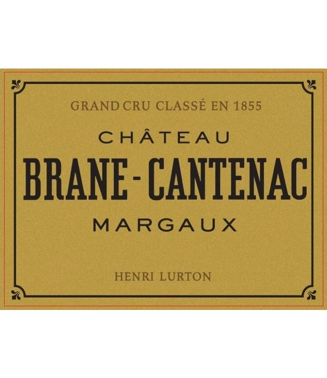 Bordeaux Blend Château Brane Cantenac, Margaux, FR, 2020 (Futures) 6-pack 6x750 ml