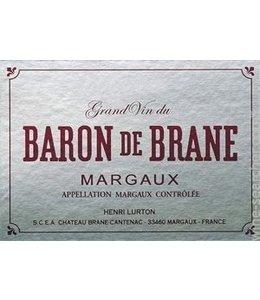 Bordeaux Blend Baron de Brane, Margaux, FR, 2020 (Futures) 6-pack 6x750 ml