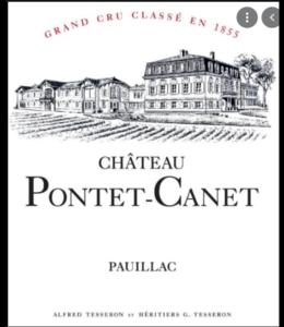 Bordeaux Blend Château Pontet-Canet, Pauillac, FR, 2020 (Futures) 3-Pack 3x750 ml