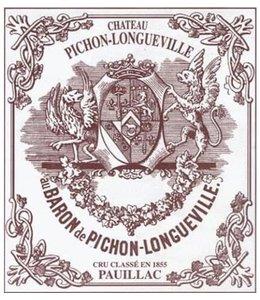 Bordeaux Blend Château Pichon-Longueville Baron, Pauillac, FR, 2020 (Futures) 3-Pack 3x750 ml