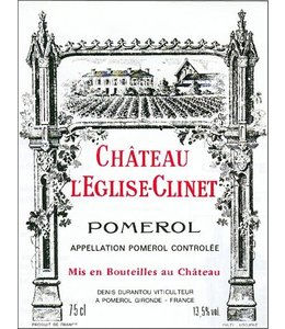Bordeaux Blend Château L'Eglise Clinet, Pomerol, FR, 2020 (Futures) 3-Pack 3x750 ml