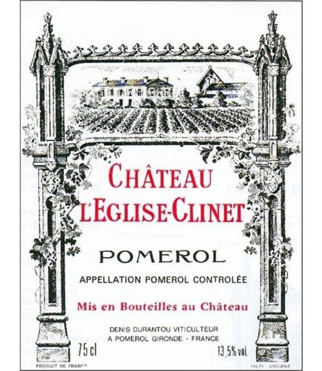 Bordeaux Blend Chateau L'Eglise Clinet, Pomerol, FR, 2020 (Futures) 3-Pack 3x750 ml