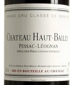 Bordeaux Blend Château Haut Bailly, Pessac-Leognan, FR, 2020 (Futures) 3-Pack 3x750 ml
