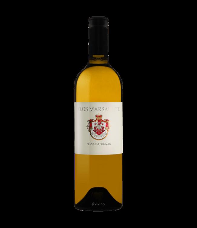 Sauvignon Blanc/Semillon Clos Marsalette Blanc, Pessac-Leognan, FR, 2015