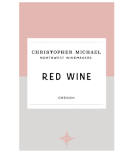 Red Blend Red Blend, Christopher Michael, OR, 2016