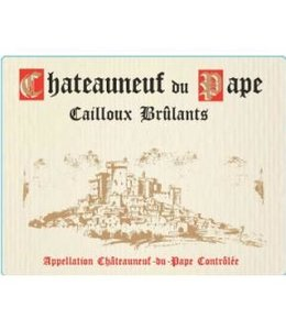 Rhone Blend Chateauneuf du Pape, Cailloux Brûlants, FR, 2020