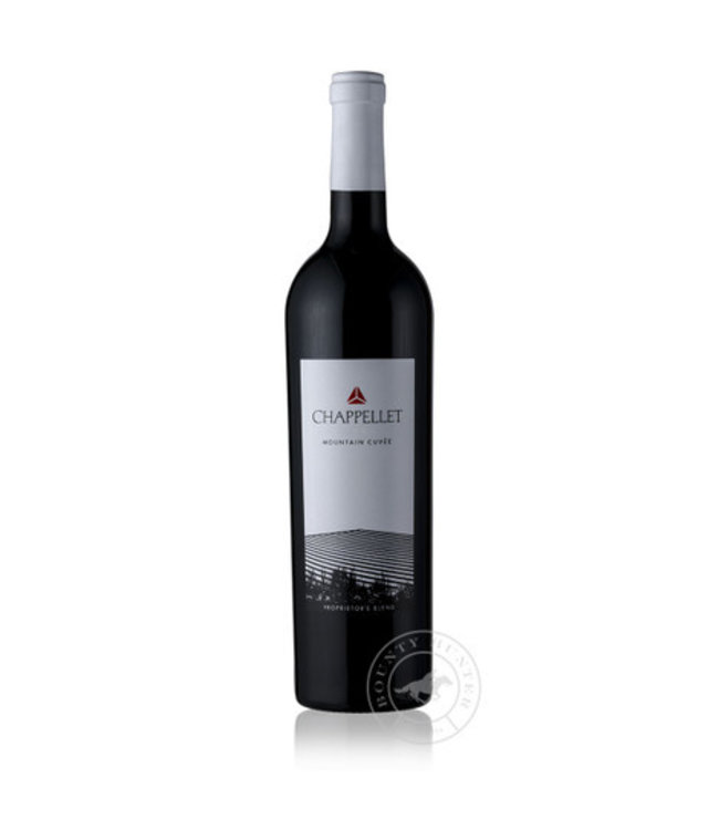 """Red Blend Red Blend, """"Mountain Cuvee"""" Chappellet, Napa Valley, CA, 2019"""
