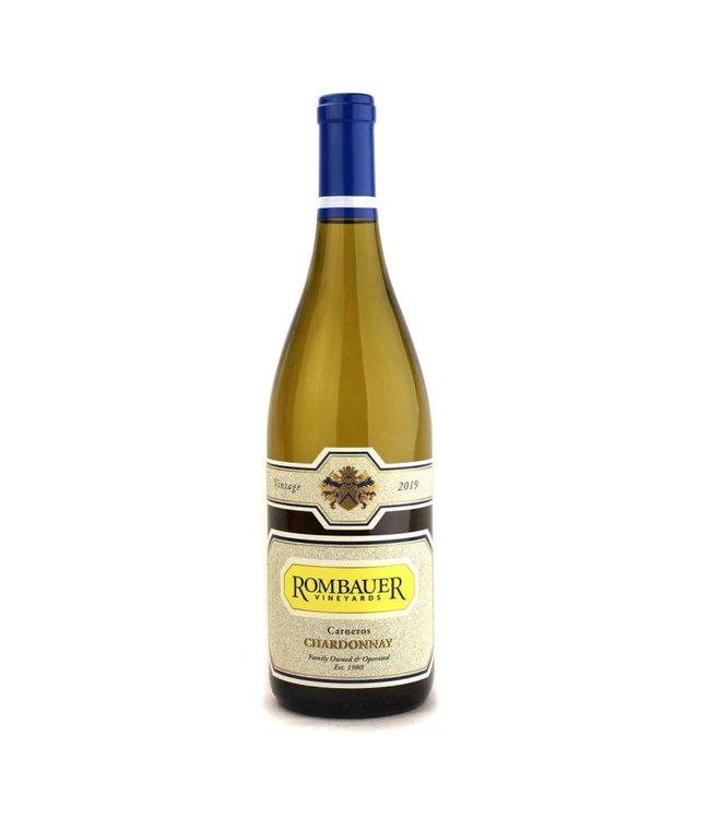 Wine Chardonnay, Rombauer, Carneros, CA, 2018