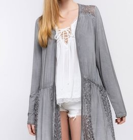 Mystic Grey Cardigan