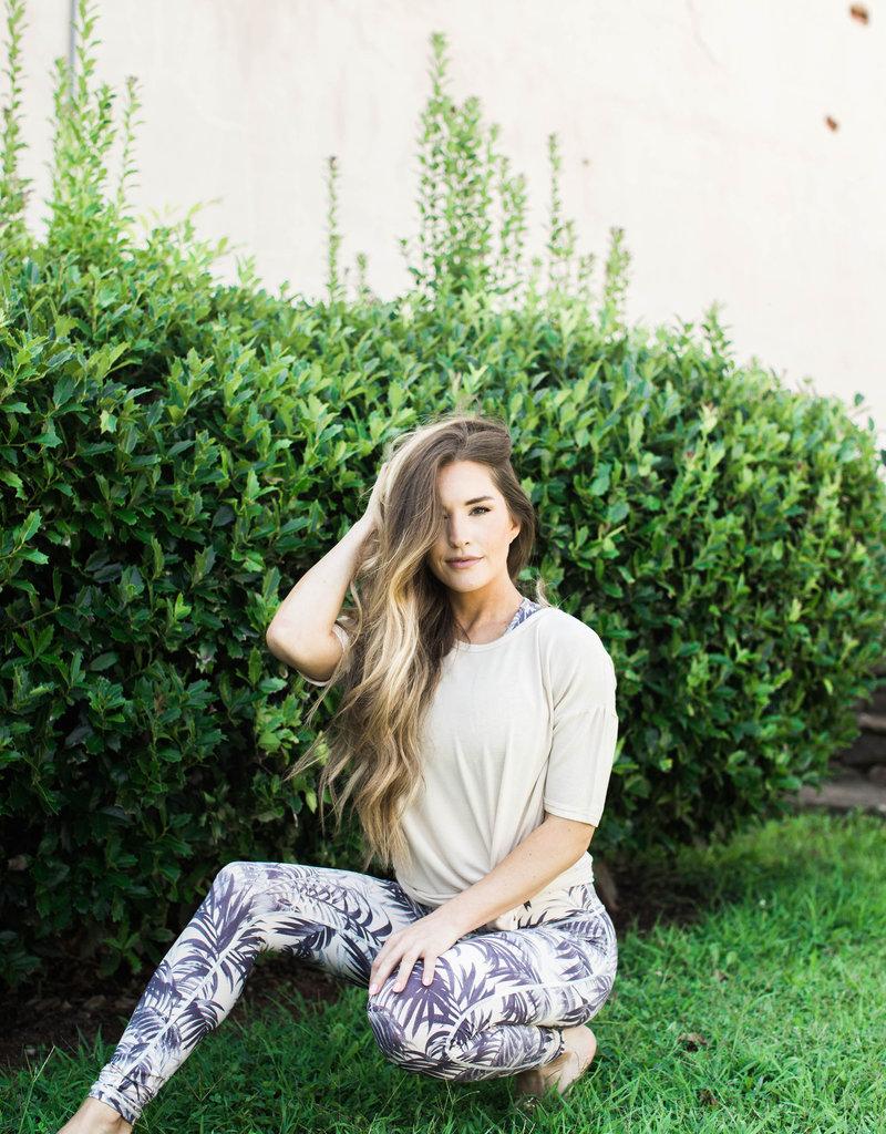 Purple Palm Athletic Pants