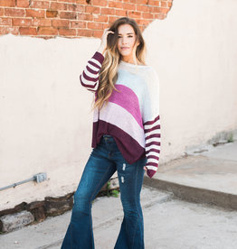 Greta Colorblock Sweater