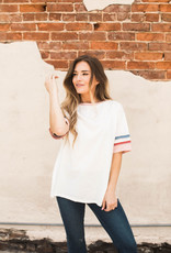 Athletic Striped Top