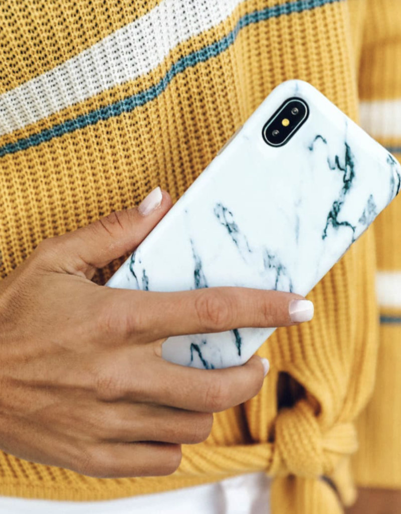 White Marble Phone Case