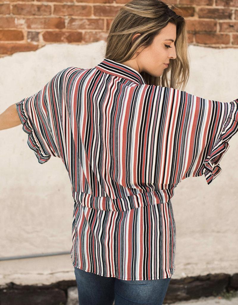 Roxy Striped Top