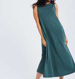 Wishlist T green midi dress