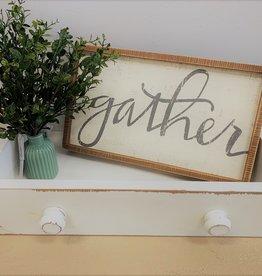 Gather Box Sign
