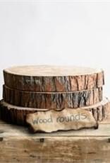 Round Wood Slice Set