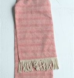 Cotton Table Runner Red/white