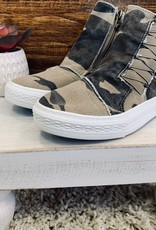 High Top Camo Sneakers