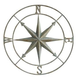 "30"" Metal Compass"