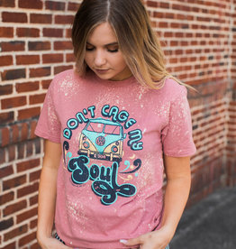 Don't Cage My Soul Bleached Tee